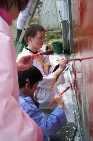 Chantier fresque